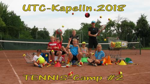 Kinder Tennis Camp #2